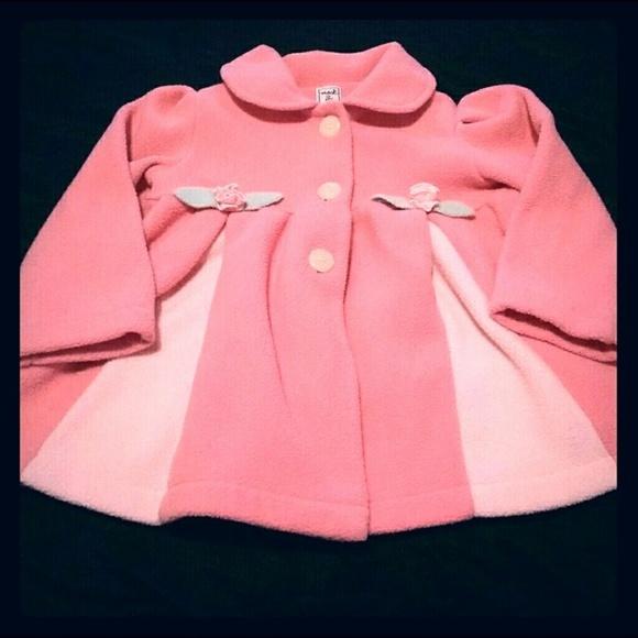 564cac172 Mack & Co. Jackets & Coats | Adorable Girls Pink Spring Jacket Mack ...
